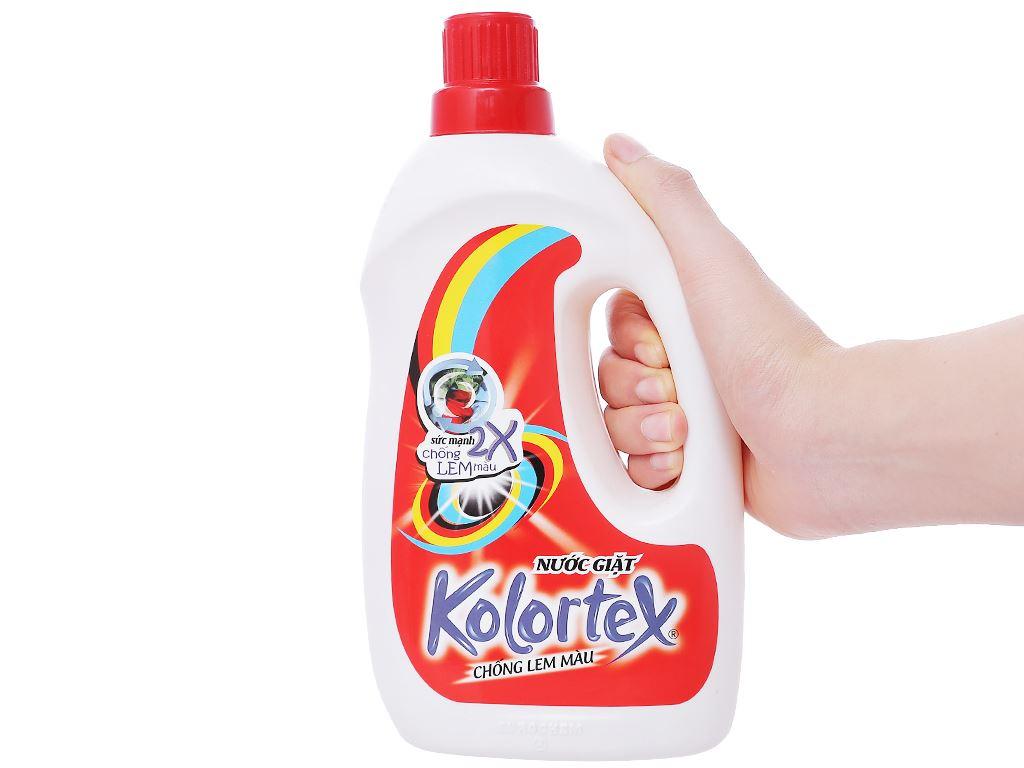 Nước giặt Kolortex chống lem màu 1 lít 3
