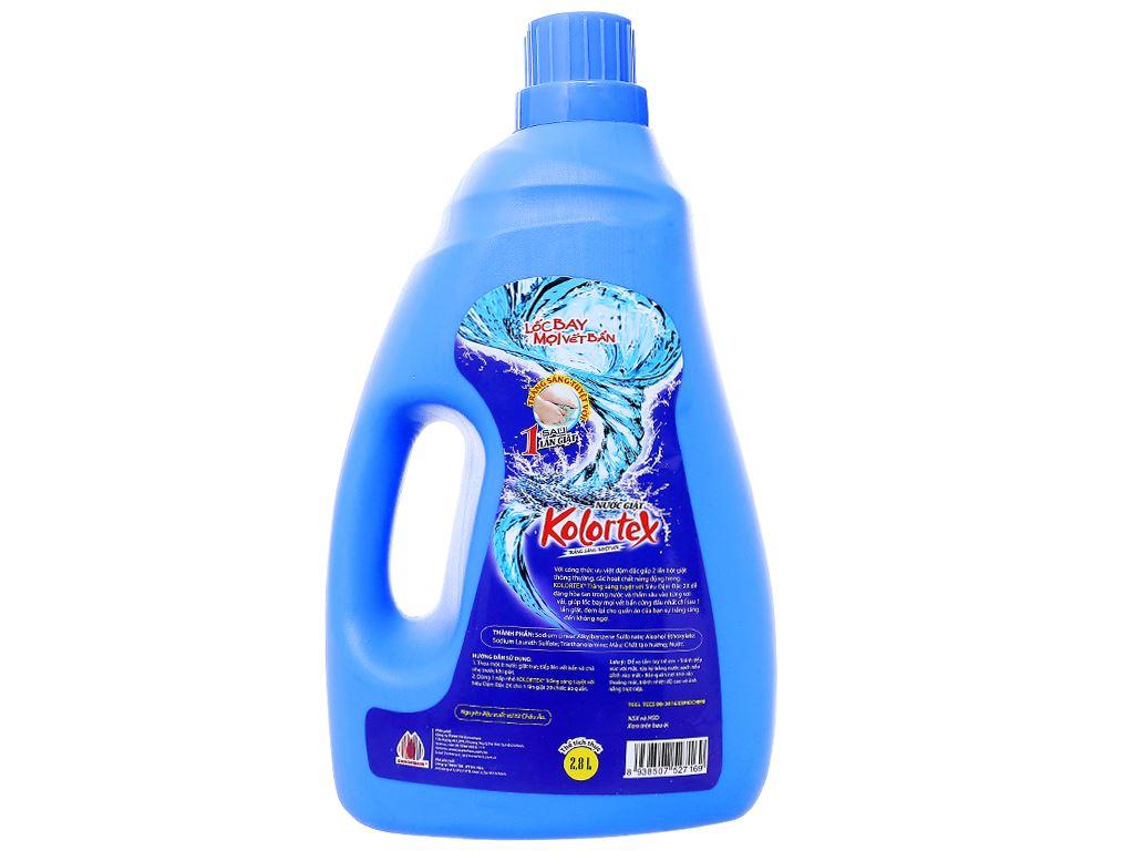 Nước giặt Kolortex trắng sáng tuyệt vời chai 2.8 lít 2