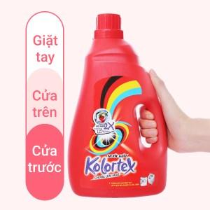 Nước giặt Kolortex chống lem màu chai 2.8 lít