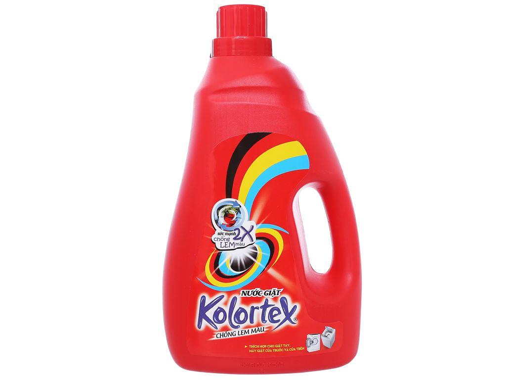 Nước giặt Kolortex chống lem màu chai 2.8 lít 1