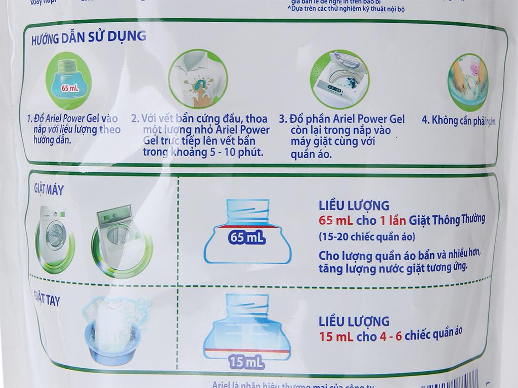 Nước giặt Ariel Matic túi 1.4kg 5