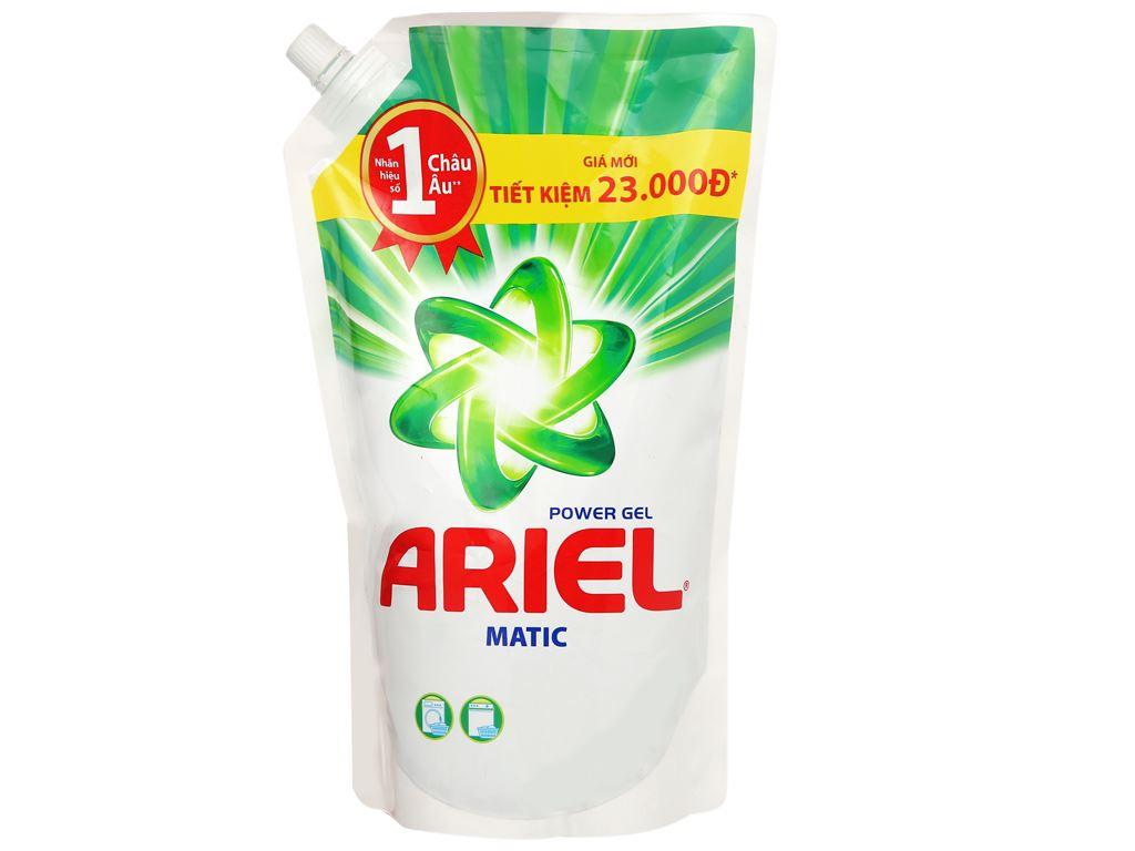 Nước giặt Ariel Matic túi 1.3 lít 1