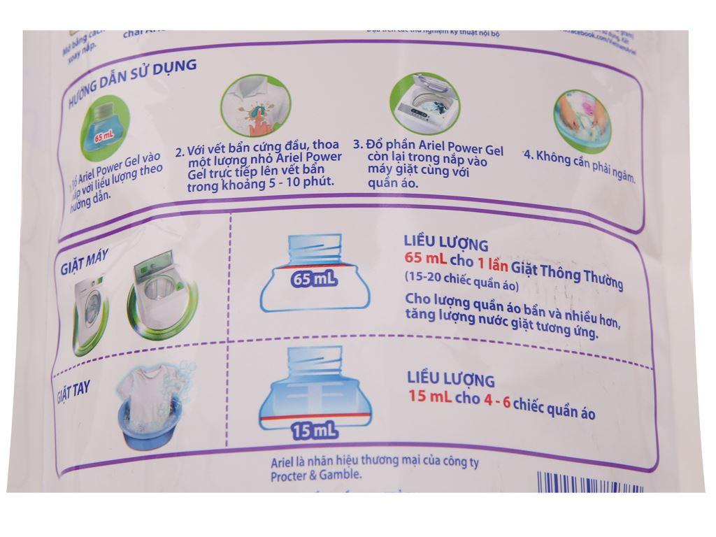 Nước giặt Ariel giữ màu túi 1.4kg 4