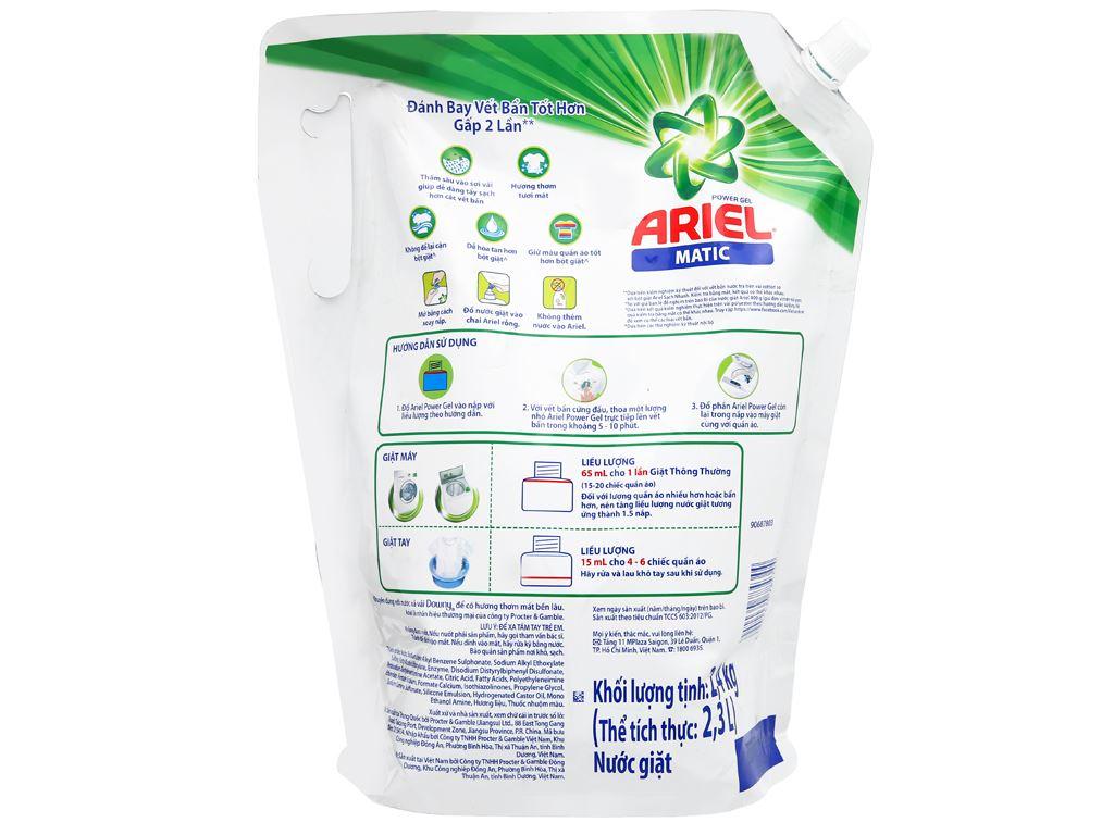 Nước giặt Ariel Matic 2.3 lít 2