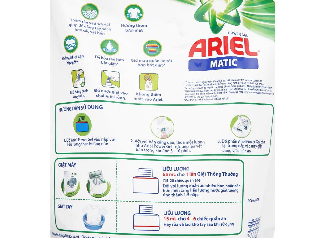 Nước giặt Ariel Matic 2.3 lít 3