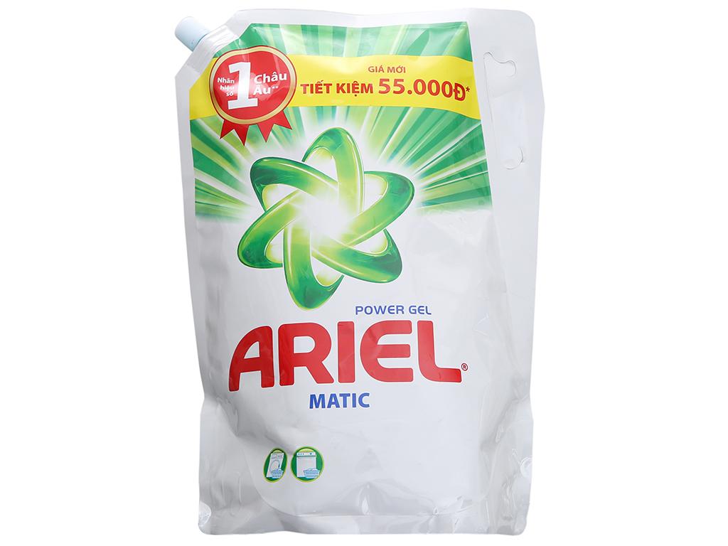 Nước giặt Ariel Matic túi 2.4kg 2