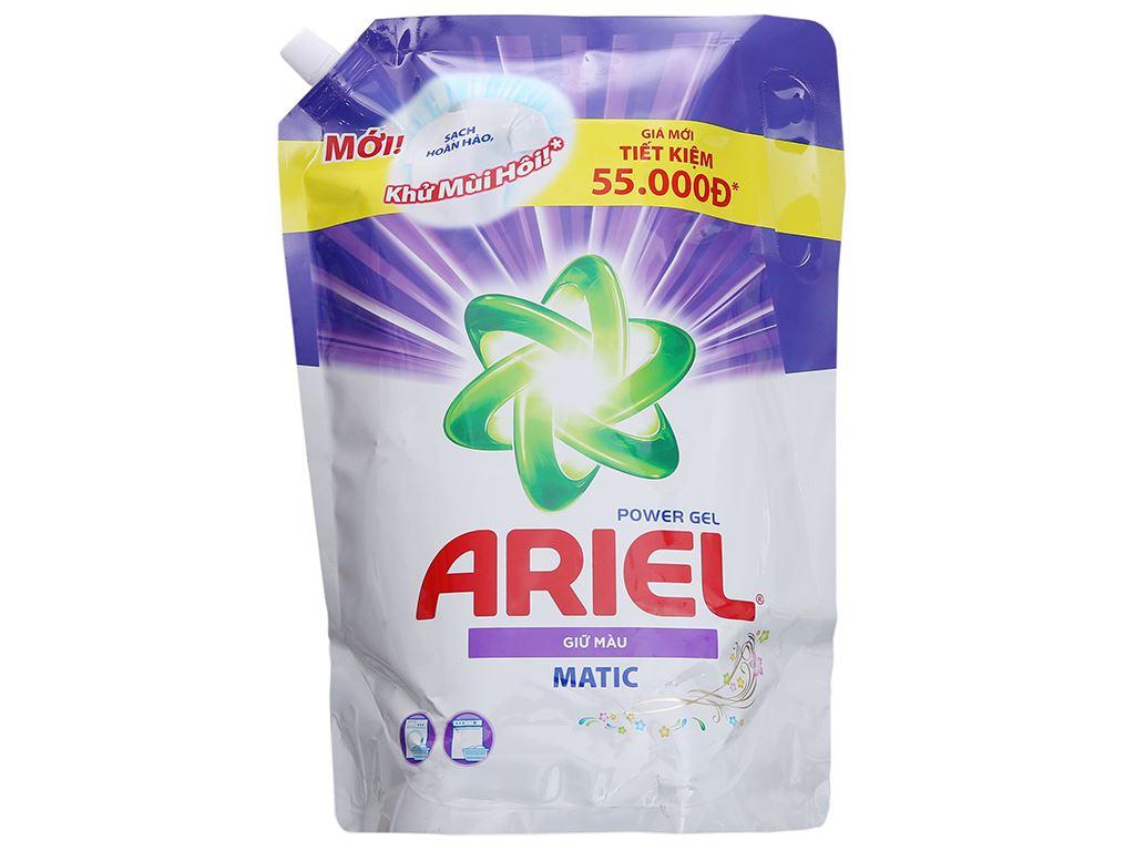 Nước giặt Ariel giữ màu túi 2.4kg 2