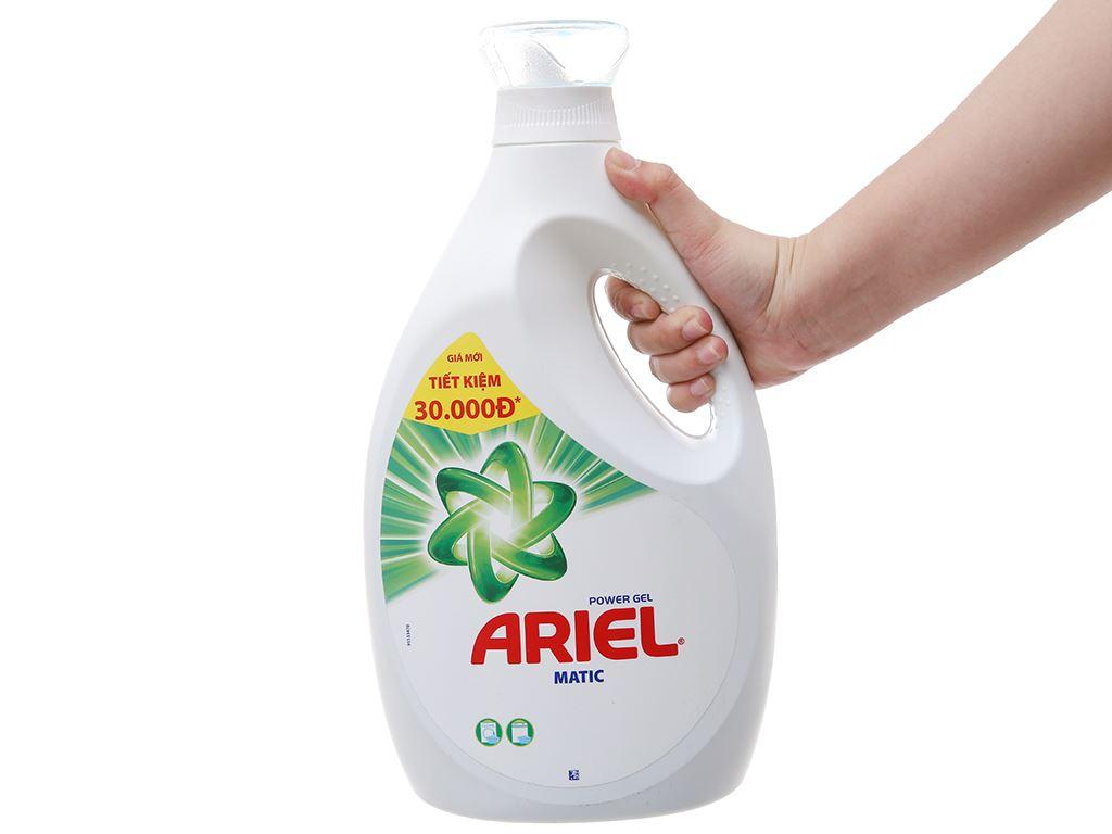 Nước giặt Ariel Matic chai 2.3 lít 4