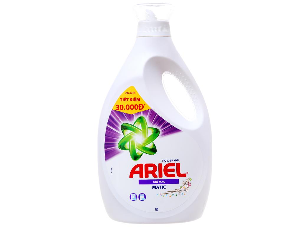 Nước giặt Ariel Matic giữ màu 2.3 lít 2