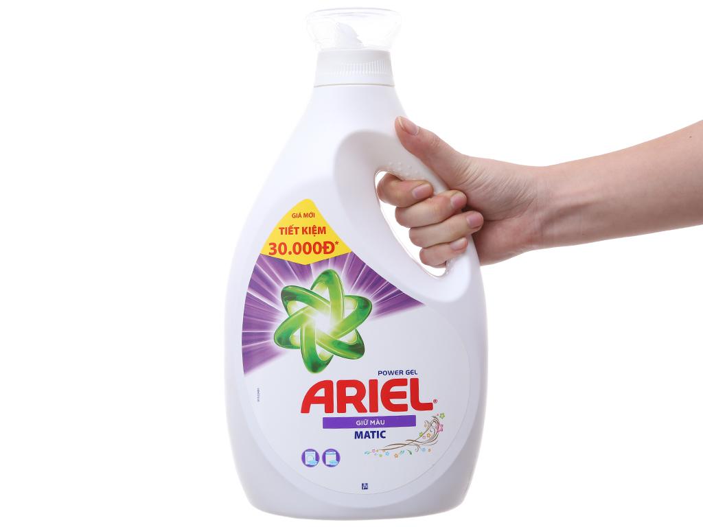 Nước giặt Ariel Matic giữ màu 2.3 lít 5