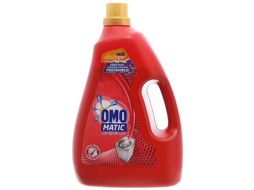 Nước giặt OMO Matic Polyshield kháng bẩn chai 4 lít 2