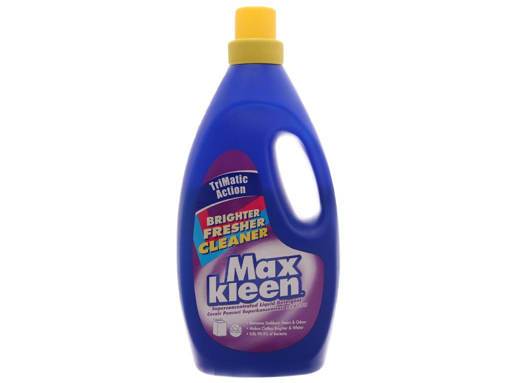 Nước giặt MaxKleen trắng sáng chai 1.8kg 2