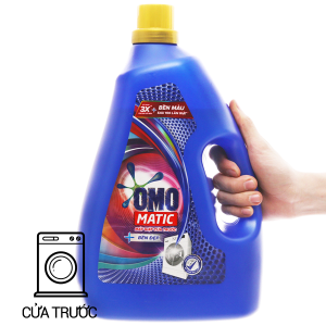 Nước giặt OMO Matic bền đẹp chai 3.7kg