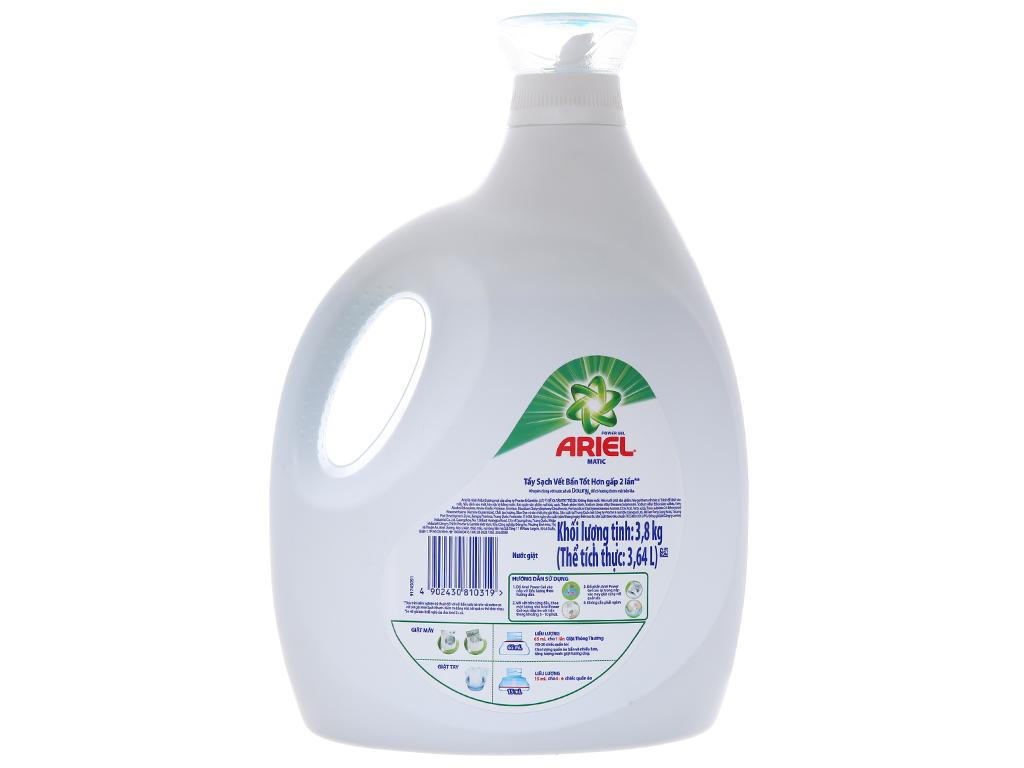 Nước giặt Ariel Matic chai 3.64 lít 3