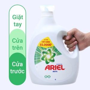 Nước giặt Ariel Matic sạch nhanh chai 3.64 lít