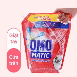 Nước giặt OMO Matic cửa trên 3.8 lít