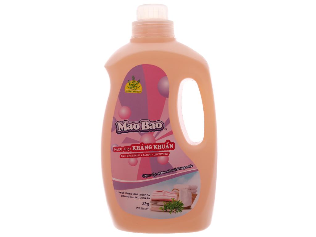 Nước giặt Mao Bao kháng khuẩn hương bách lý chai 1.9 lít 2