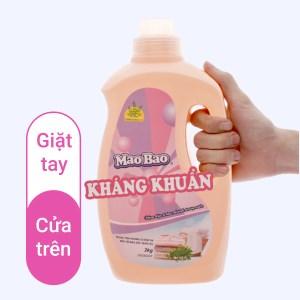 Nước giặt Mao Bao kháng khuẩn hương bách lý chai 1.9 lít