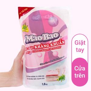 Nước giặt Mao Bao kháng khuẩn hương bách lý túi 1.7 lít