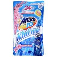 Nước giặt Attack Khử mùi hoa Anh đào túi 1,4kg