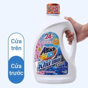 Nước giặt Attack hương hoa anh đào 2.4kg