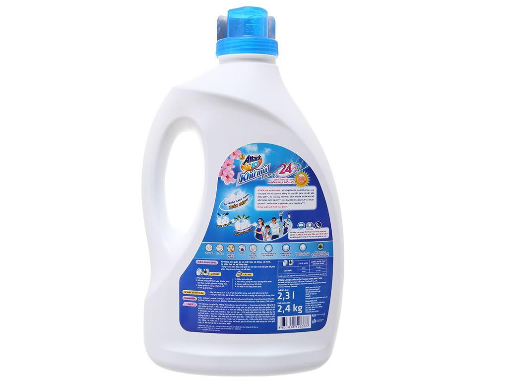 Nước giặt Attack hương hoa anh đào chai 2.3 lít 3