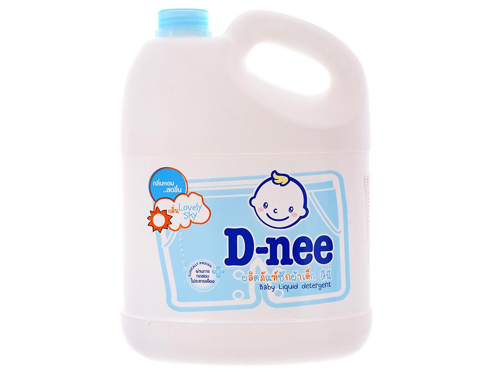 Nước giặt cho bé D-nee xanh can 3 lít 2