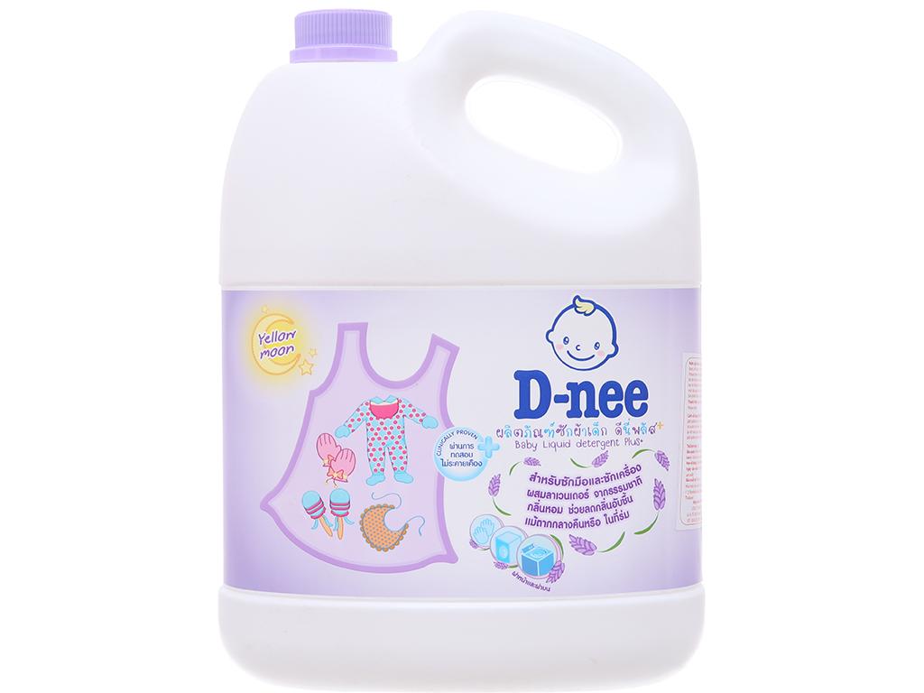Nước giặt cho bé D-nee tím can 3 lít 2