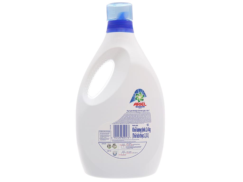 Nước giặt Ariel Matic khử mùi ẩm mốc chai 2.4kg 2