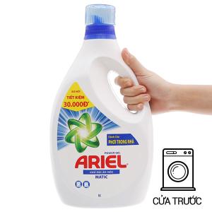 Nước giặt Ariel Matic khử mùi ẩm mốc chai 2.3 lít