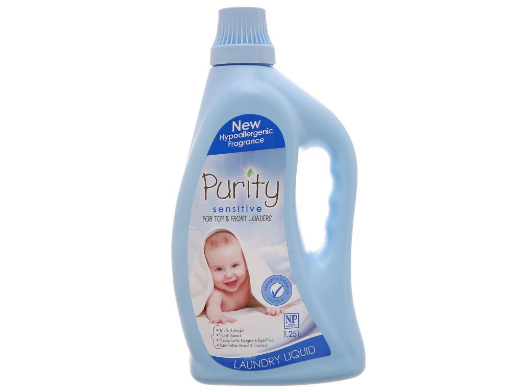 Nước giặt cho bé Purity chai 1.25 lít 1