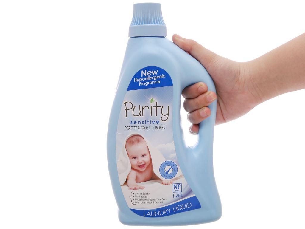Nước giặt cho bé Purity chai 1.25 lít 3
