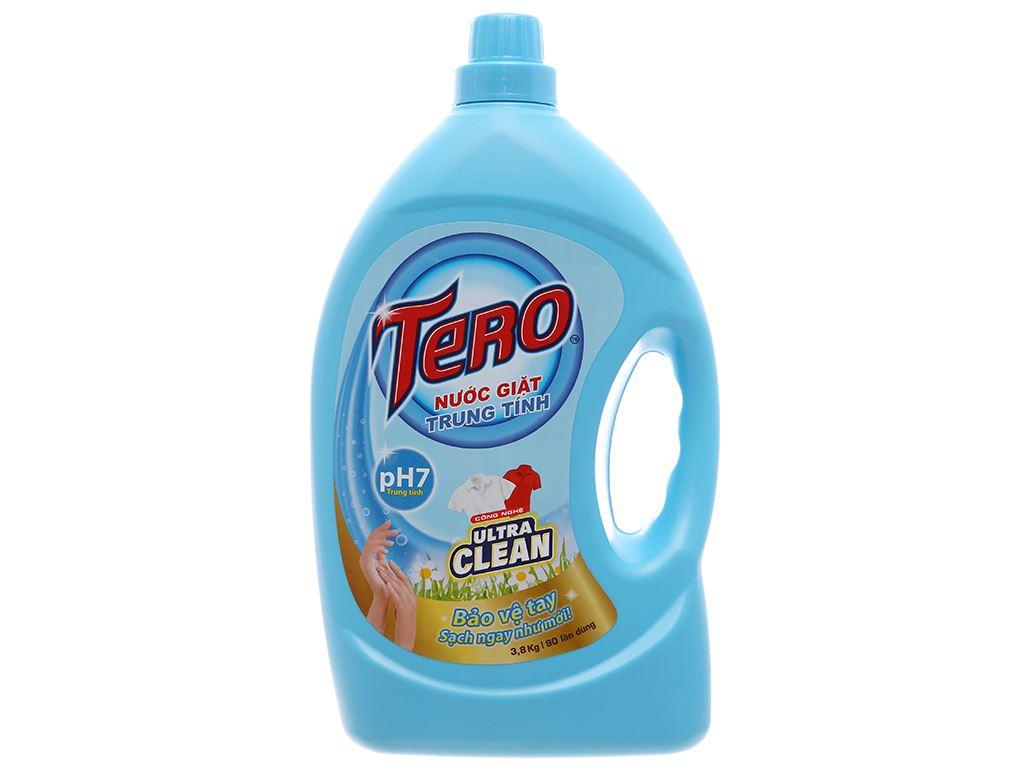 Nước giặt trung tính Tero Ultra Clean 3.8kg 2