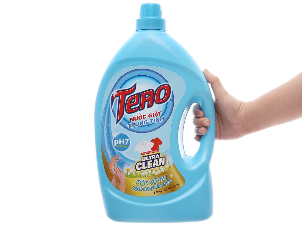 Nước giặt trung tính Tero Ultra Clean 3.8kg 4