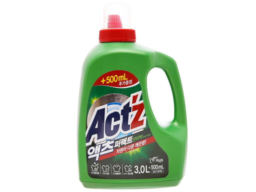 Nước giặt xả Act'z kháng khuẩn hương thảo dược chai 3.5 lít 1