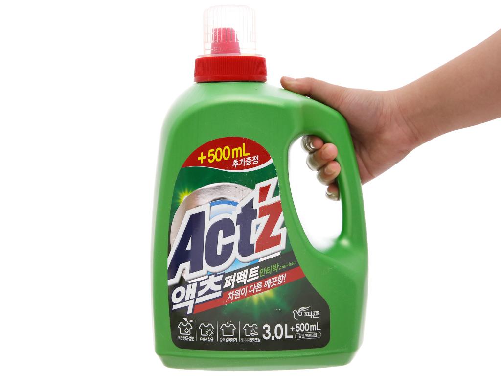Nước giặt xả Act'z kháng khuẩn hương thảo dược chai 3.5 lít 3