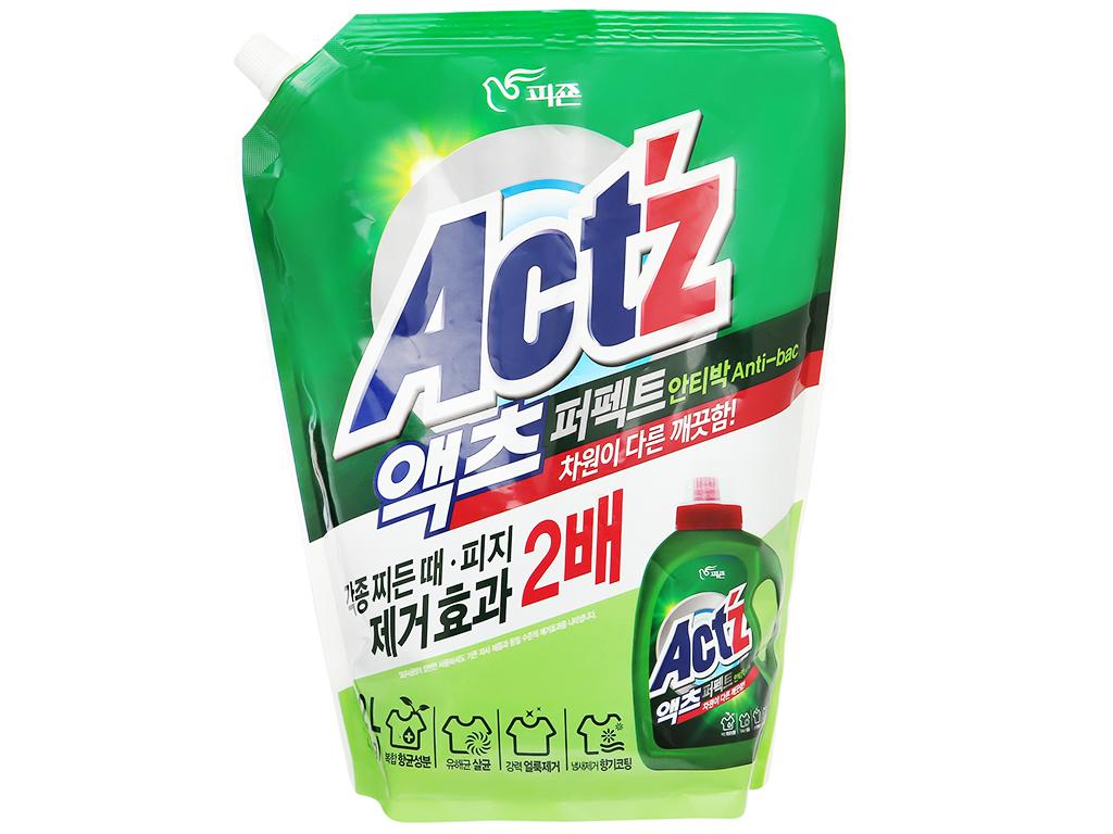 Nước giặt xả Act'z kháng khuẩn hương thảo dược túi 2.2 lít 1