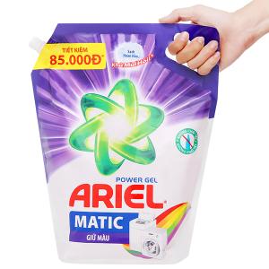 Nước giặt Ariel Matic giữ màu túi 3.25kg