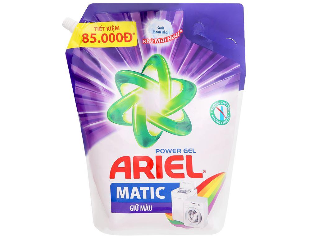 Nước giặt Ariel Matic giữ màu túi 3.25kg 1