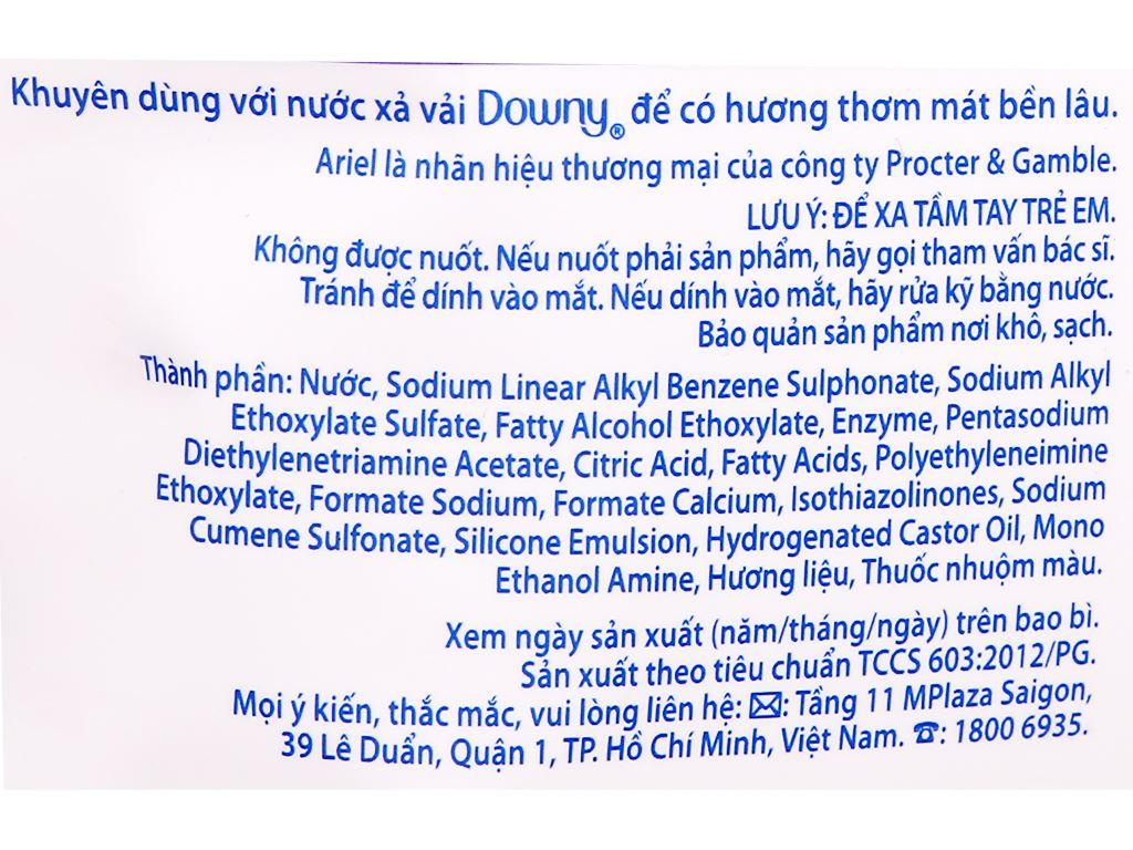 Nước giặt Ariel Matic giữ màu túi 3.25kg 3