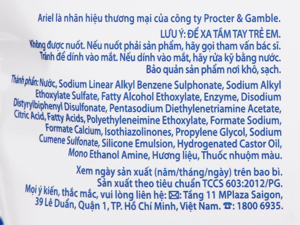 Nước giặt Ariel Matic hương Downy túi 3.25kg 3