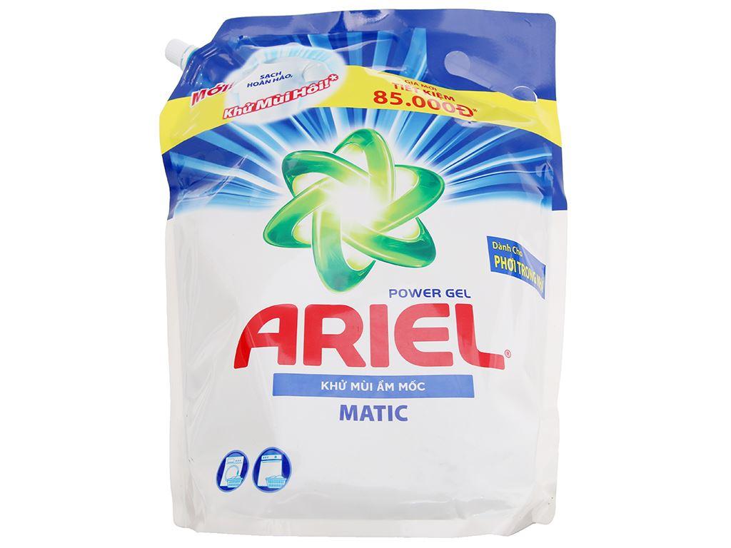 Nước giặt Ariel Matic khử mùi ẩm mốc 3.1 lít 1