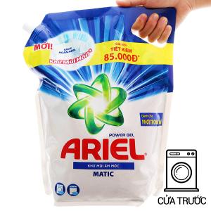 Nước giặt Ariel Matic khử mùi ẩm mốc túi 3.1 lít