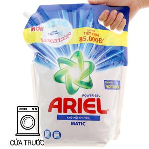 Nước giặt Ariel Matic khử mùi ẩm mốc túi 3.25kg