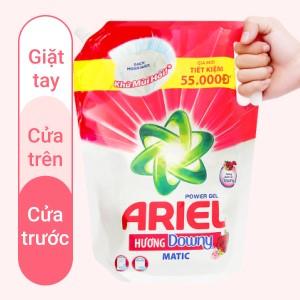 Nước giặt Ariel Matic hương Downy túi 2 lít