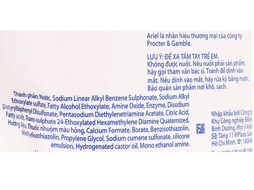 Nước giặt Ariel Matic hương Downy 1.2 lít 4