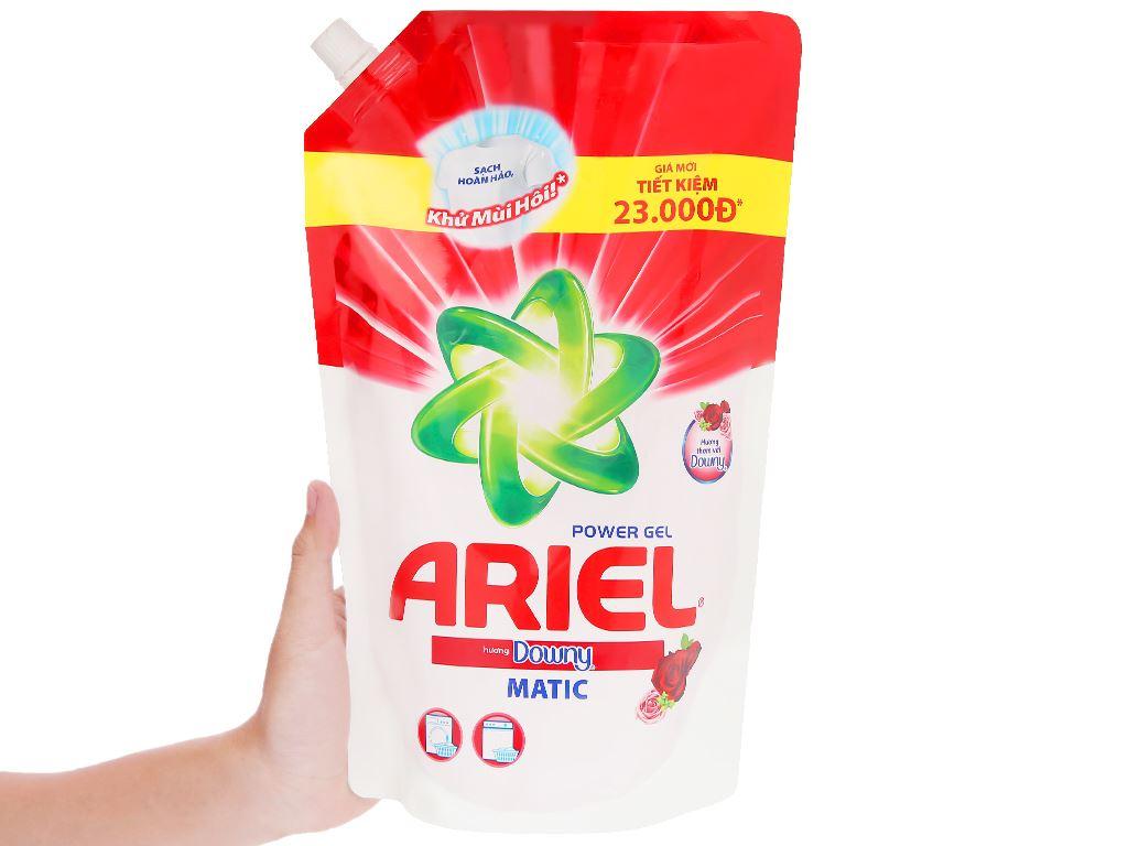 Nước giặt Ariel Matic hương Downy 1.2 lít 6