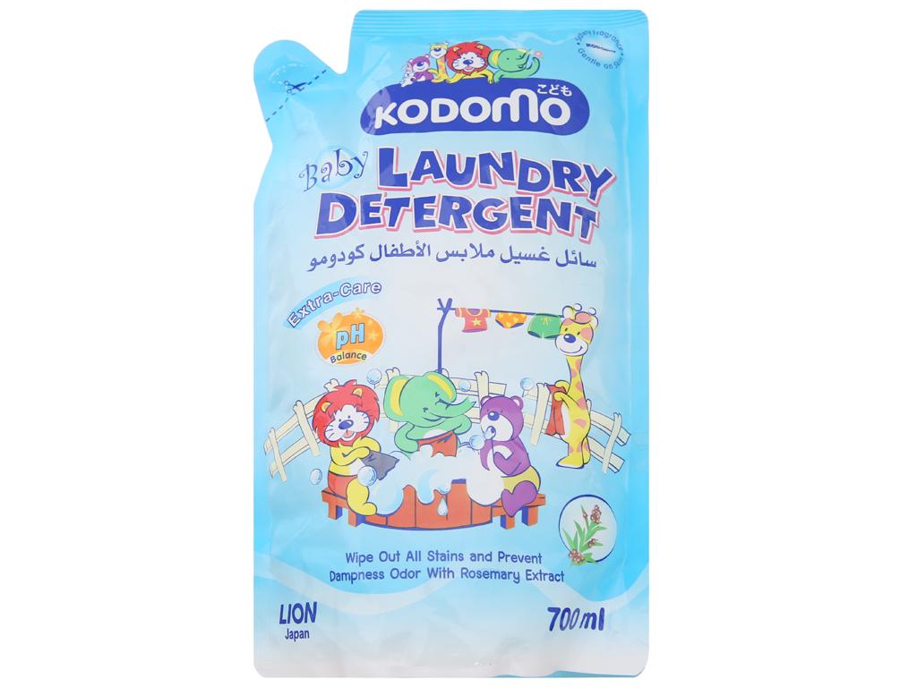 Nước giặt cho bé Kodomo xanh túi 700ml 1