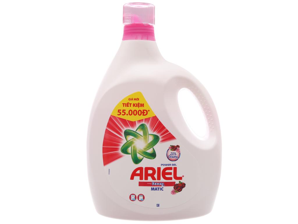 Nước giặt Ariel Matic Hương downy chai 3.4kg 2