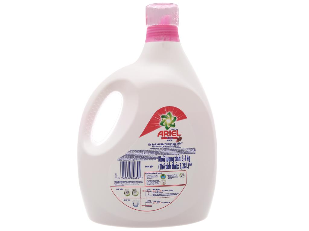 Nước giặt Ariel Matic hương Downy 3.28 lít 3